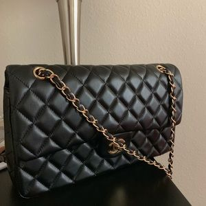 Handbags - Black leather crossbody
